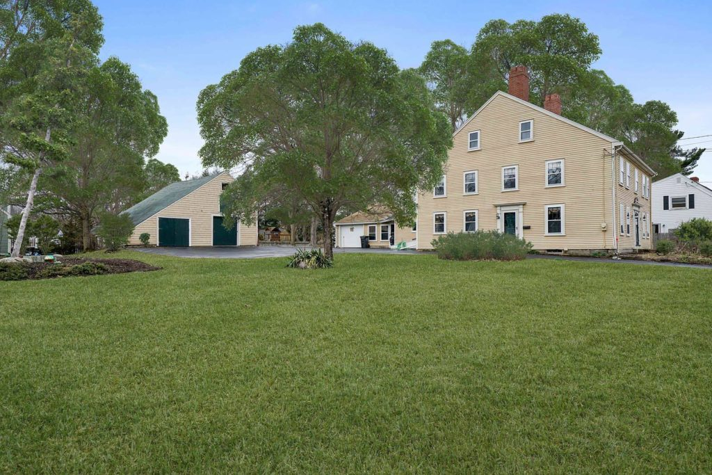 Exterior Photograph of Home Sold in Dedham MA