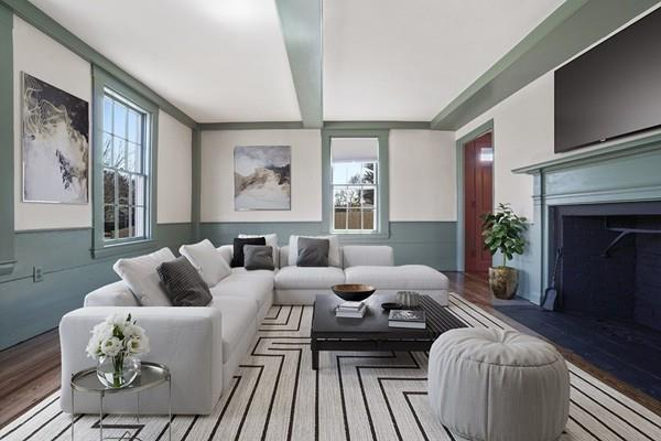 Living Room Photograph from 769 East Street in Dedham MA