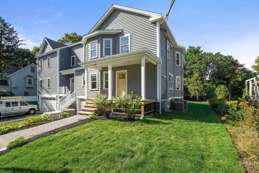 Front photograph of 475 Waltham Street in Lexington MA