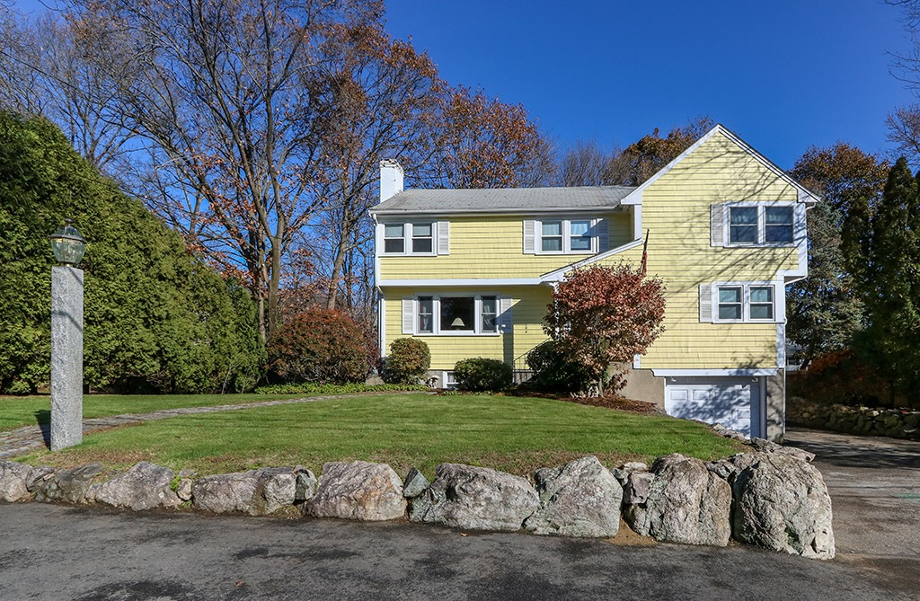 Front exterior photograph of 15 Indian Path in Dedham MA