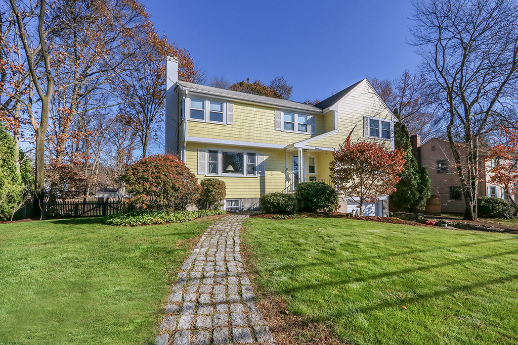 Front exterior photograph of 15 Indian Path, Dedham MA