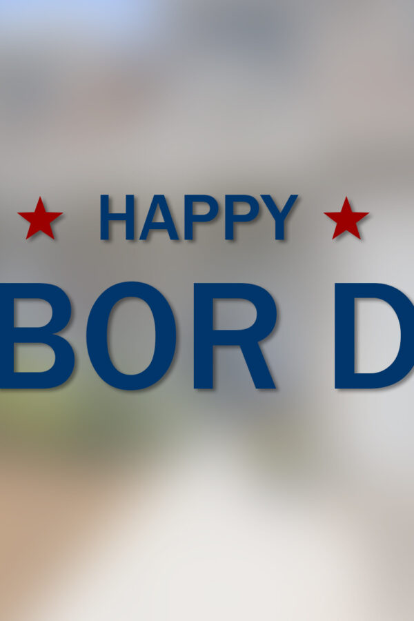 Happy Labor Day Graphic