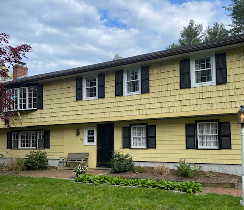 Front exterior photograph of 94 Granite Street, Medfield MA
