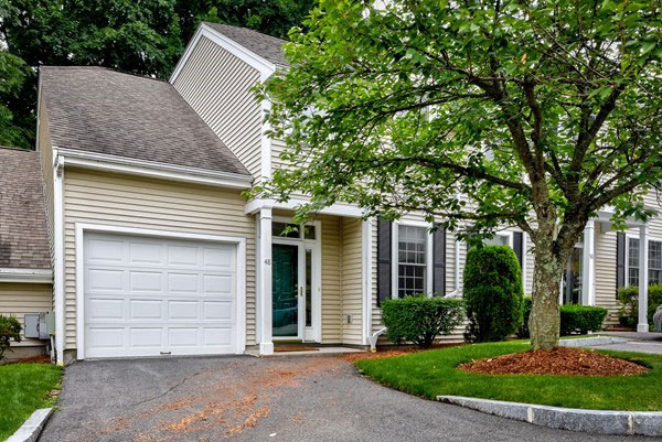 Front Exterior of 48 Evergreen Circle, Canton MA